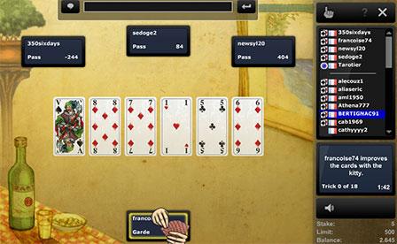 Jouer au Tarot en ligne ee0488c3c0e9