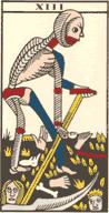 Tarot Arcan numéro 13 : La Mort